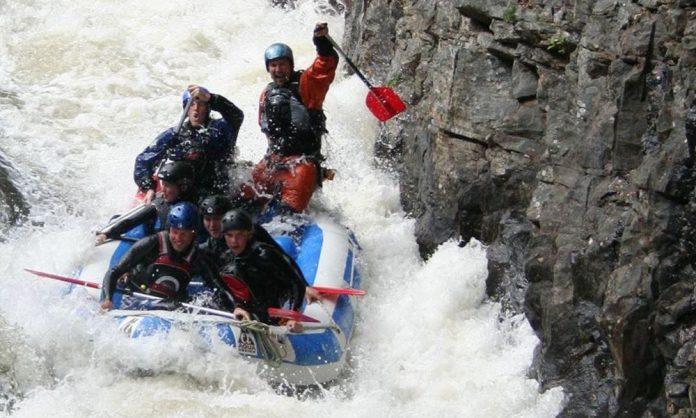 white water rafting Scotland